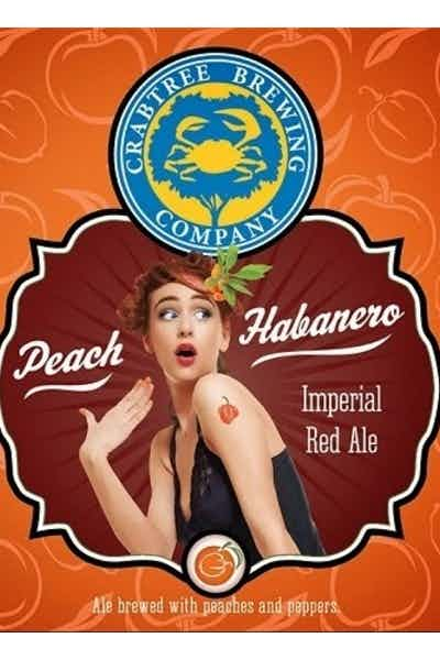 Peach Habanero Imperial Red Ale