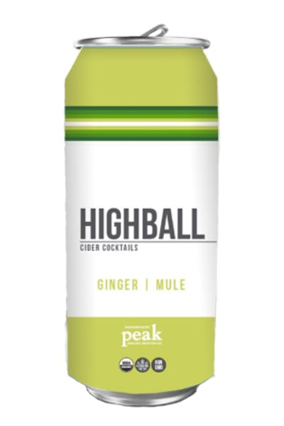 Peak Organic Highball Ginger Mule