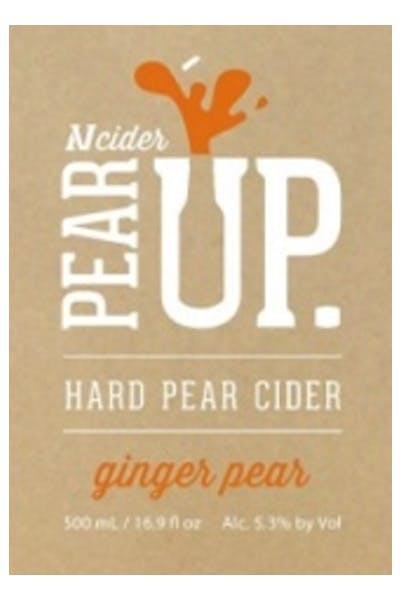 Pear Up Ginger Pear Cider