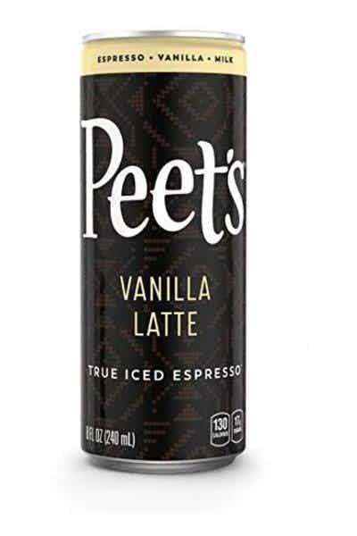 Peet's Vanilla Latte Iced Espresso