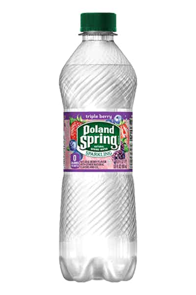 Poland Spring Triple Berry Sparkling Water