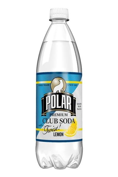 Polar Club Soda With Lemon