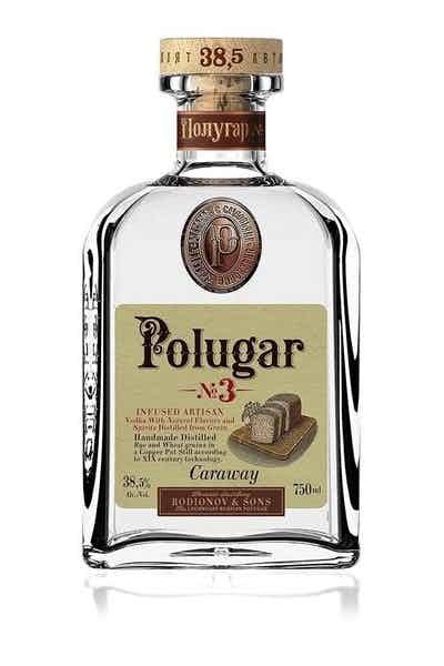 Polugar #3 Caraway Vodka