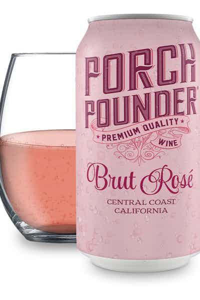 Porch Pounder Brut Rosé Wine