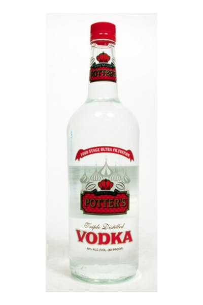 Potters Vodka
