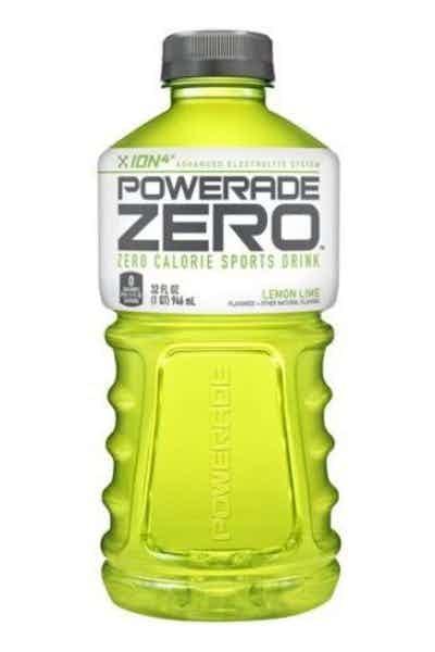 Powerade Zero Lemon Lime