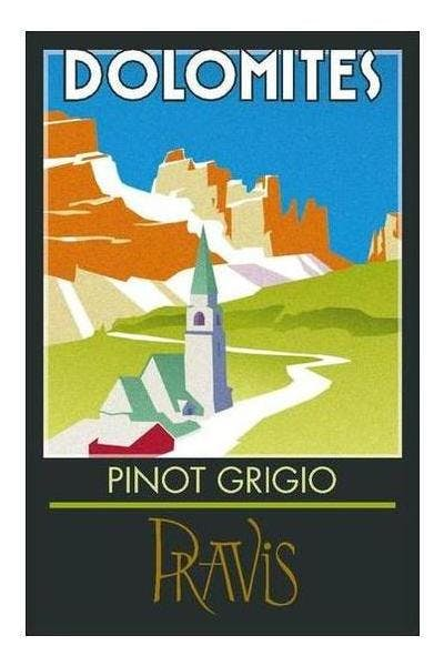 Pravis Dolomites Pinot Grigio