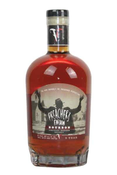 Preacher's Pardon Bourbon Whiskey