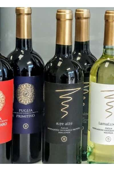 Puglia 5 Bottle Wine Variety Pack