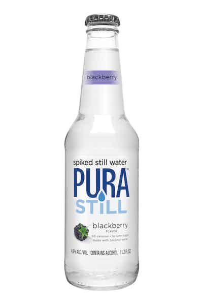Pura Still Spiked Still Water Blackberry