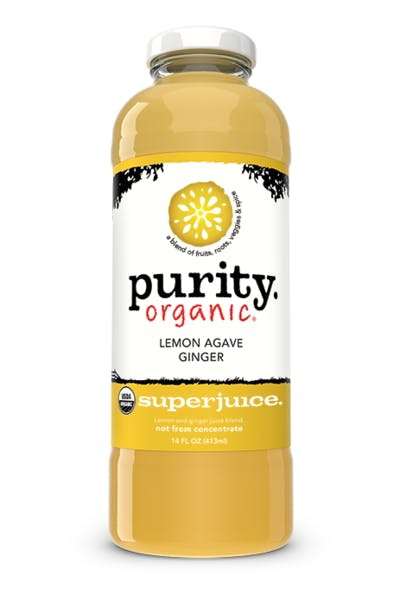 Purity Lemon Agave Ginger Juice