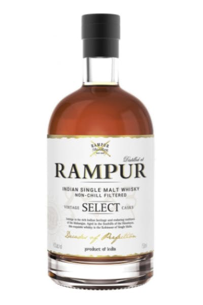 Rampur Indian Single Malt Whiskey Select