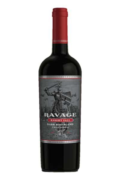 Ravage Knight Fall Dark Red Blend
