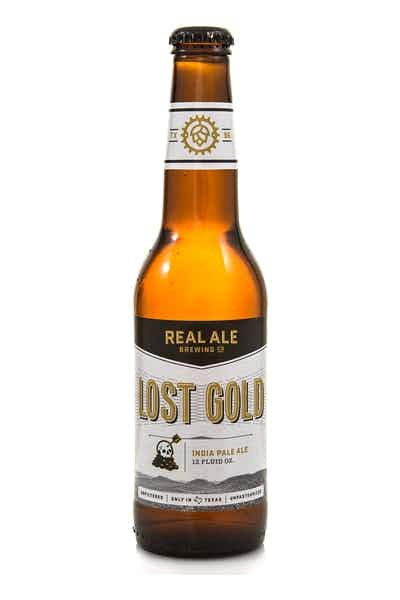 Real Ale Lost Gold IPA