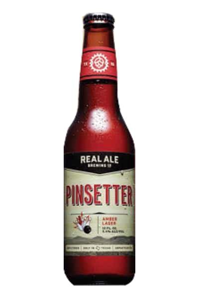 Real Ale Pinsetter Amber Lager