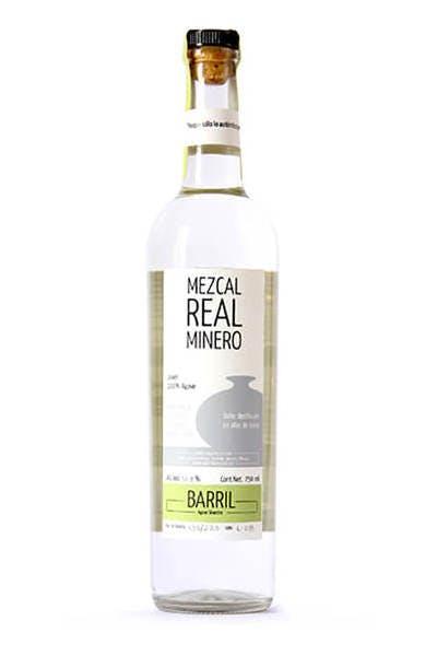 Real Minero Barril Mezcal