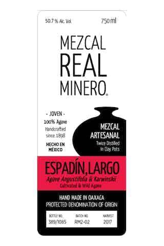 Real Minero Mezcal Espadin, Largo Artesanal