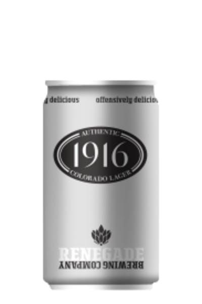 Renegade 1916 Colorado Lager