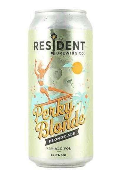 Resident Perky Blonde Ale