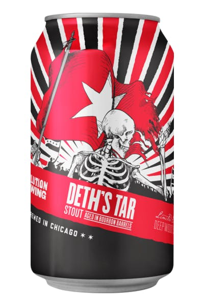 Revolution Deth's Tar Barrel-Aged Imperial Oatmeal Stout