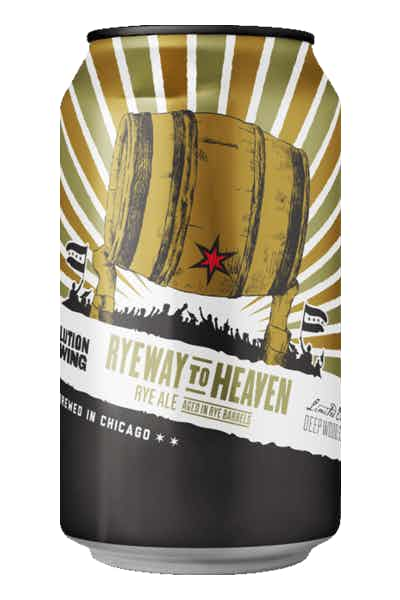 Revolution Ryeway To Heaven Rye Ale