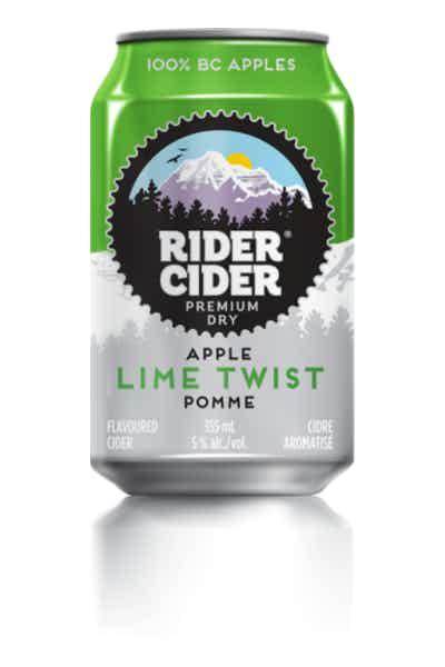 Rider Cider Lime Twist