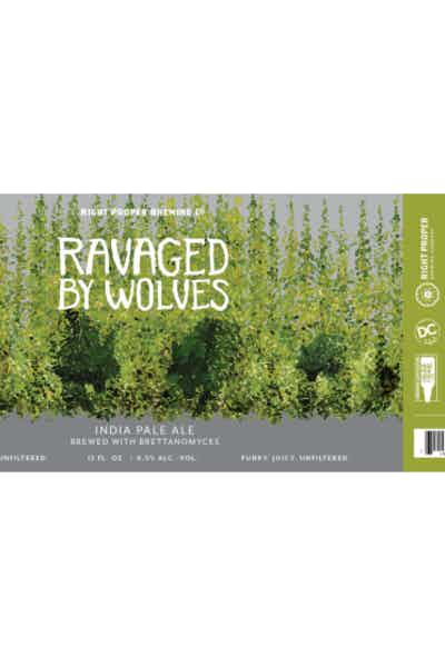 Right Proper Ravaged By Wolves Farmhouse Ale