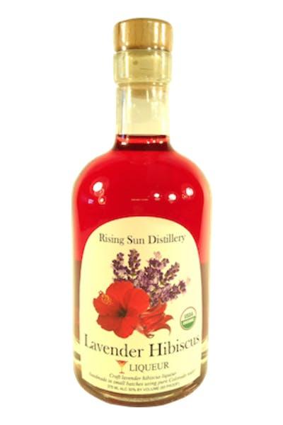 Rising Sun Colorado Lavender Hibiscus Liqueur
