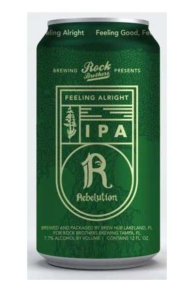 Rock Brothers Rebelution's Feeling Alright IPA