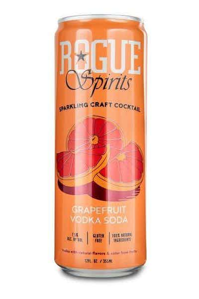 Rogue Spirits Grapefruit Vodka Soda Canned Cocktail