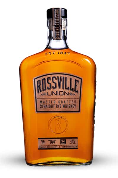 Rossville Union Master Crafted Straight Rye Whiskey