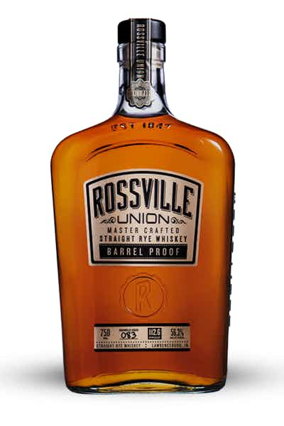 Rossville Union Master Crafted Straight Rye Whiskey Barrel Proof