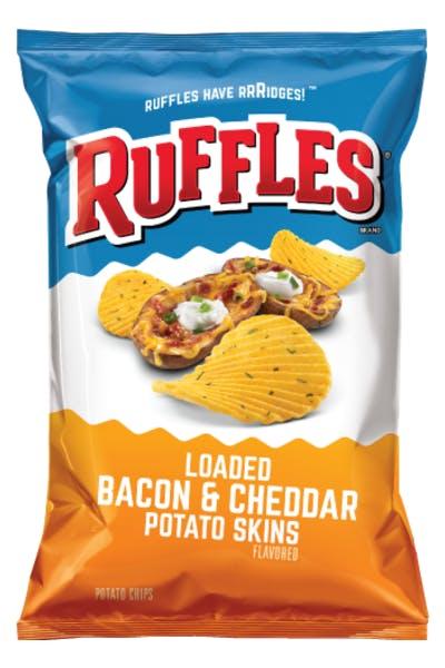 Ruffles Loaded Bacon & Cheddar Potato Skins