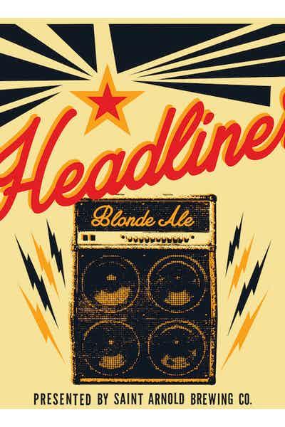 Saint Arnold Headliner Blonde Ale