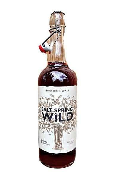 Salt Spring Wild Cider Elderberry