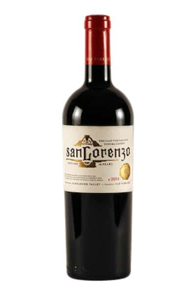 San Lorenzo The Pearl Old Vine Red 2014