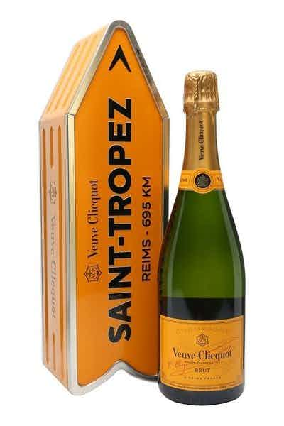 Saint Tropez Veuve Yellow Label