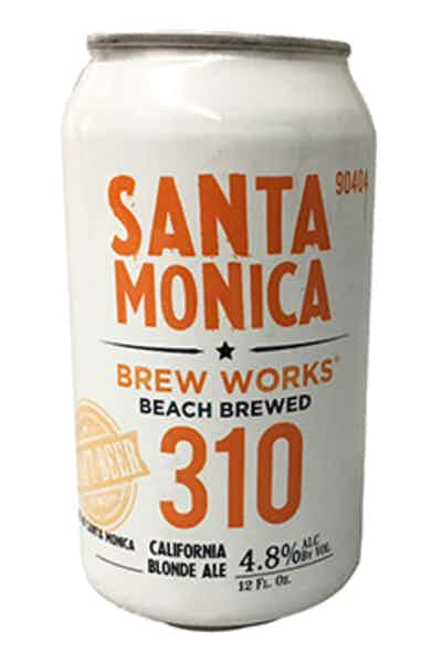 Santa Monica Brew 310 Works Blonde Ale