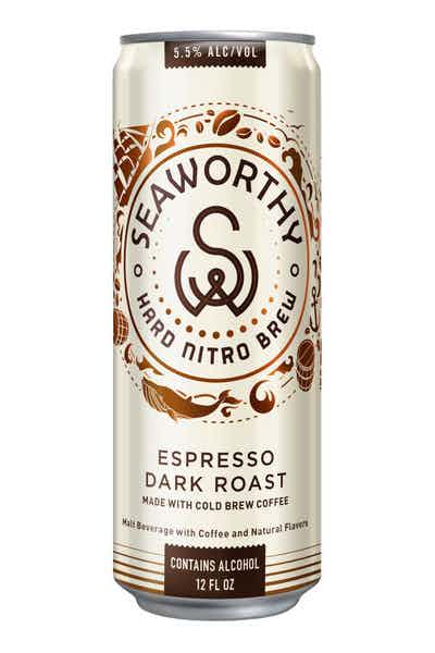 Seaworthy Espresso Dark Roast Hard Nitro Cold Brew Beer