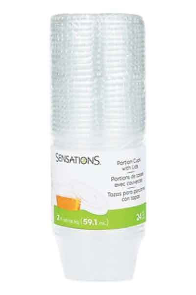 Sensations Gelatin Shot Cups with Lids