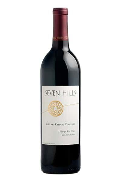 Seven Hills Winery Ciel du Cheval Vineyard Red Wine