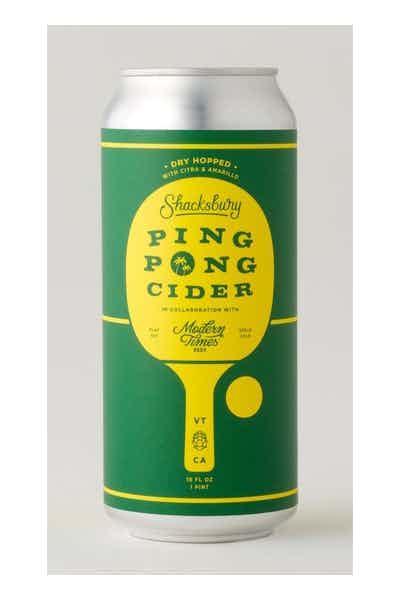 Shacksbury Ping Pong Cider