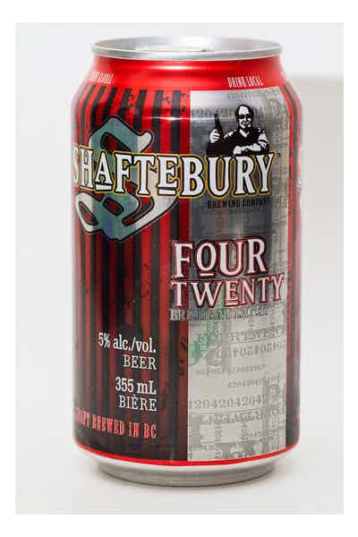 Shaftebury Four Twenty Brilliant Lager