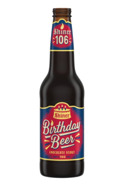 Shiner Birthday Beer Chocolate Stout