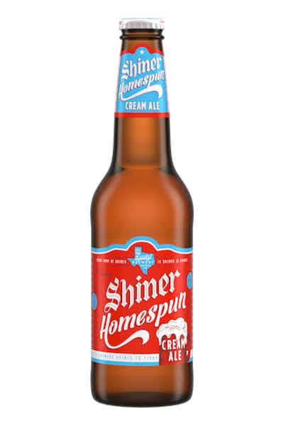 Shiner Homespun Cream Ale