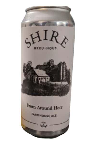 Shire Breu-Hous From Around Here Farmhouse Ale