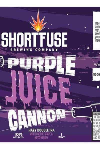 Short Fuse Purple Juice Cannon
