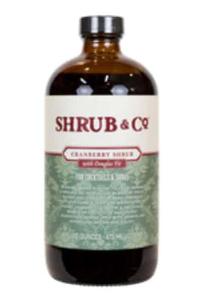 Shrub & Co Cranberry With Douglas Fir