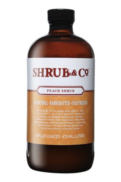 Shrub & Co Peach Shrub