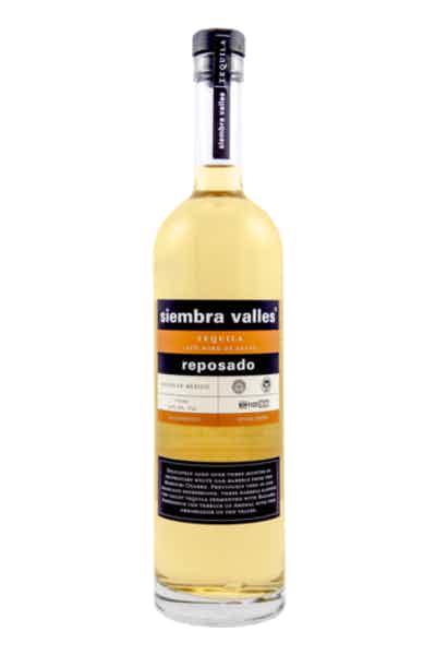 Siembra Azul Tequila Reposado Valles